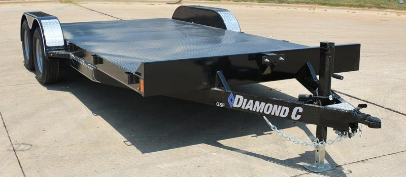 2020 Diamond C Trailers GTF Car / Racing Trailer
