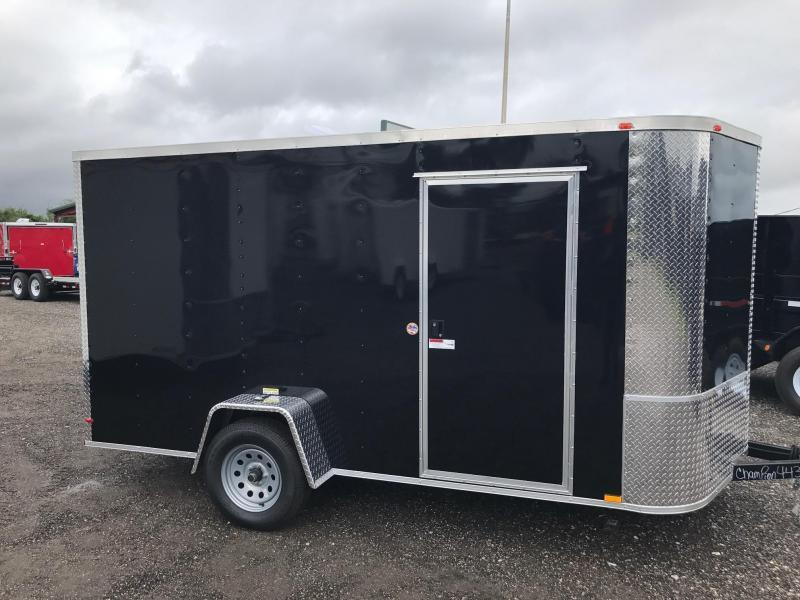 7 x 12 x 6'3 Arising Enclosed Enclosed Cargo Trailer