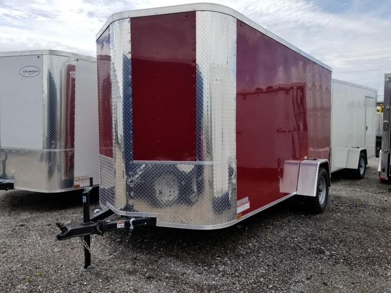 Arising 6x12SA Enclosed Cargo Trailer Motorcycle