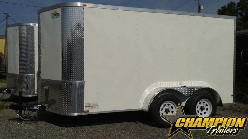 Arising 7x14TA Enclosed Cargo Trailer Motorcycle