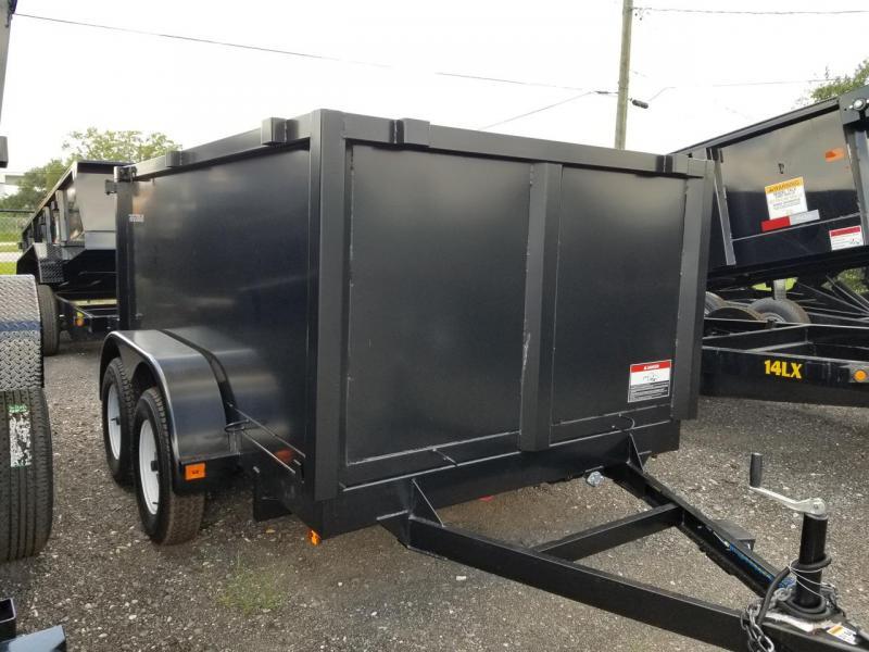 2019 Triple Crown Trailers 6x10 4' Sides Dump Trailer