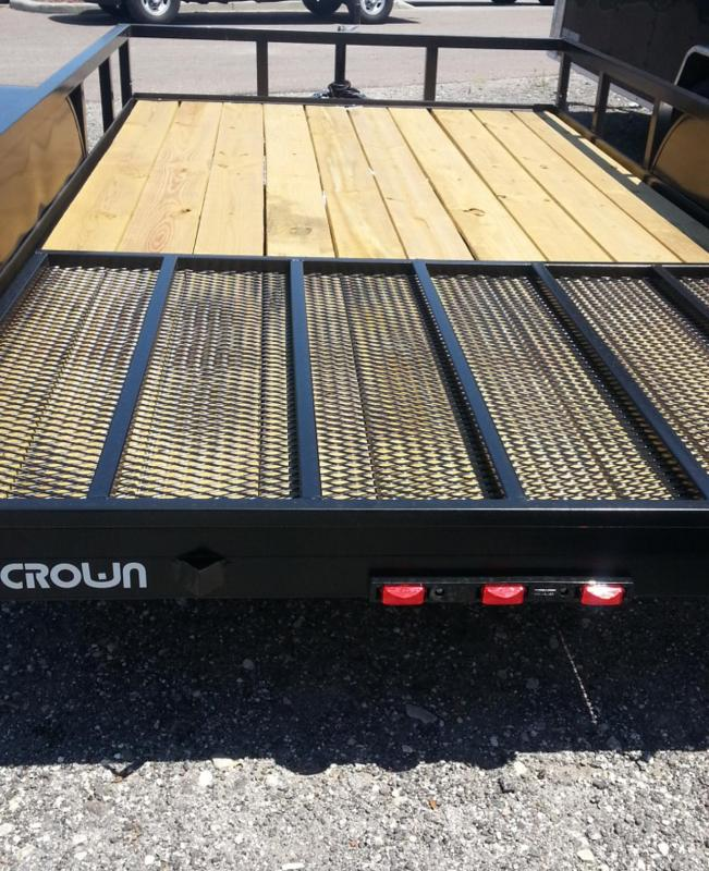 Triple Crown Trailers 6'4x16 Utility Trailer