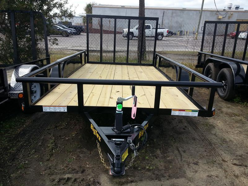 Big Tex 60 PI 77x16' Tandem Axle Utility Lawncare