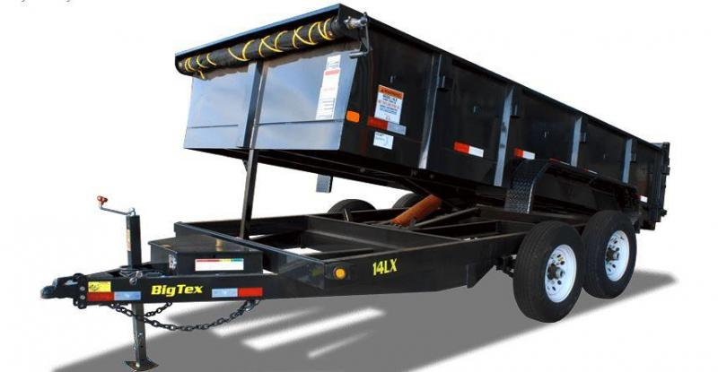 2018 Big Tex Trailers 14LX-14BK-HJ Dump Trailer
