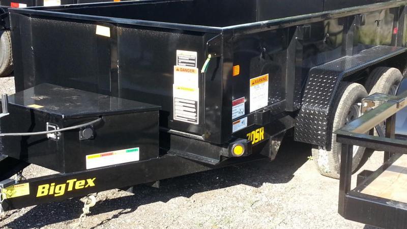 70SR 5 x 10 Tandem Axle Single Ram Dump