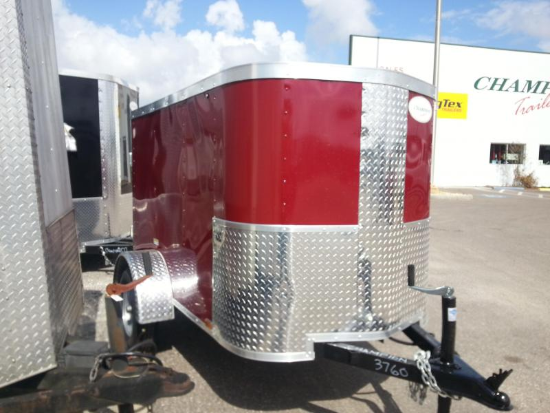 2019 Arising 4x6 Enclosed Cargo Trailer