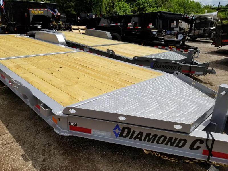 Diamond C Trailers HDT207-L 24X82 TILT Equipment Trailer