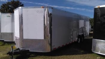 8.5x24x6'6 Arising Enclosed Trailer