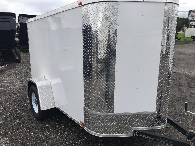 Arising 5x8 Cargo Trailer W/O Side Door One Avail.