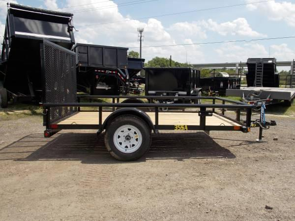 35SA Single Axle Utility 10ft