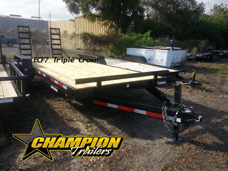 2018 Triple Crown Small Equipment Trailer 20'