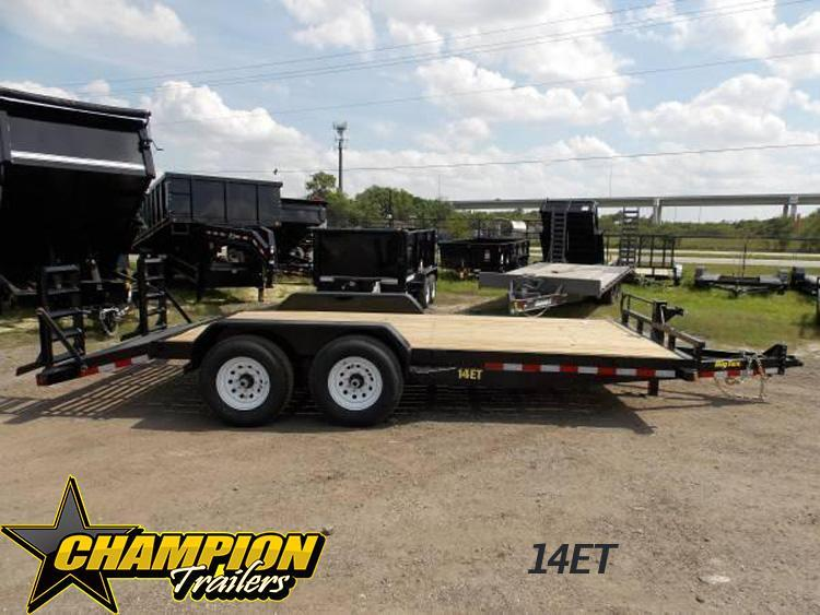 14ET Heavy Duty Tandem Axle 7k Equipment 20'