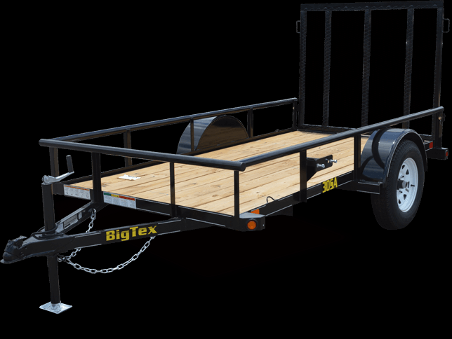 2018 Big Tex Trailers 35SA-14BK Utility Trailer