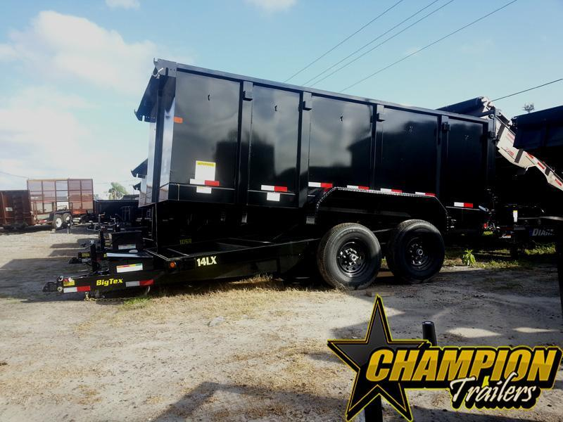 2019 Big Tex Trailers 14LX-14BK-P4 Dump Trailer