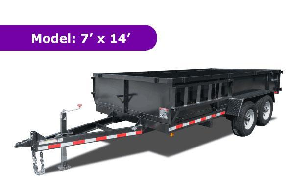 2015 Triple Crown Trailers D7 DUMP Dump Trailer