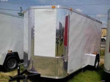 6x12x6 Arising Enclosed Trailer
