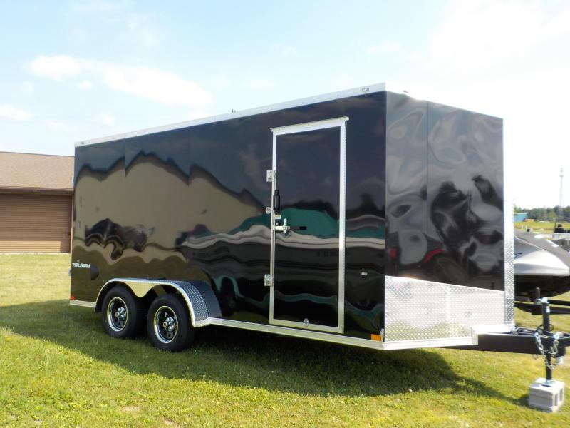 2020 Formula Triumph 7X16 Slope Nose Enclosed Cargo Trailer
