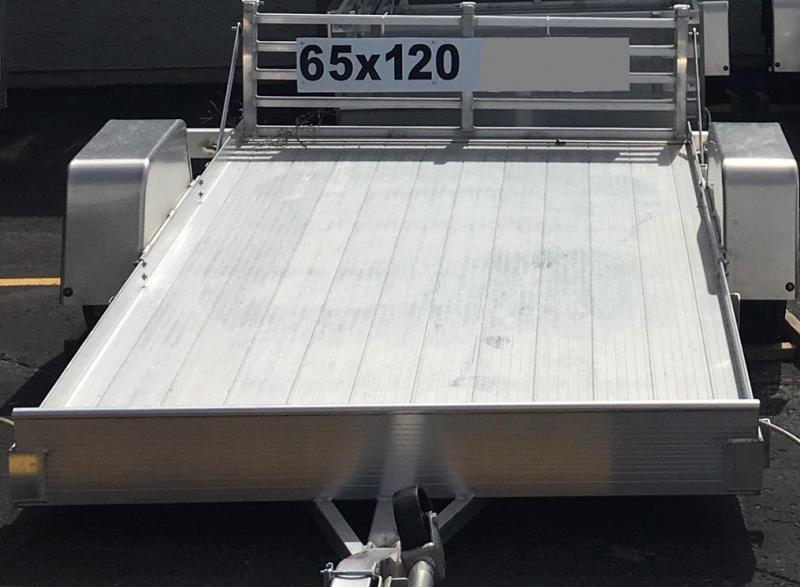 2018 Bear Track Products BTU65120S Utility Trailer