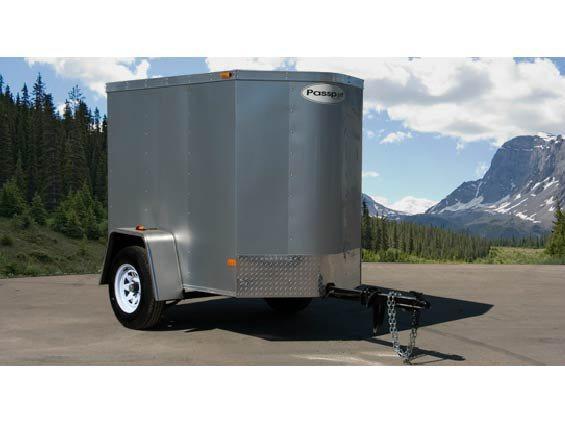 2016 Haulmark Trailers PPT4X6DS2 Enclosed Cargo Trailer