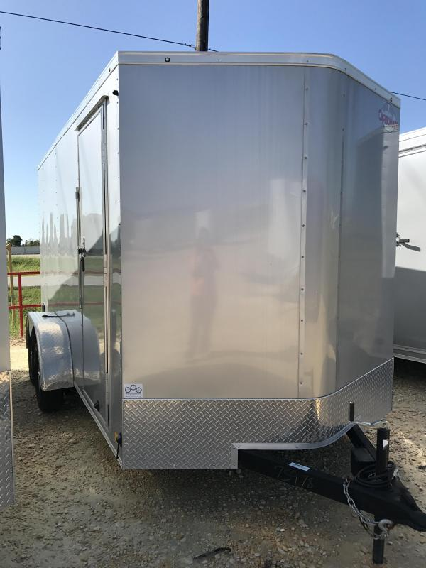 2017 Cargo Mate LEEH714TA2 Enclosed Cargo Trailer