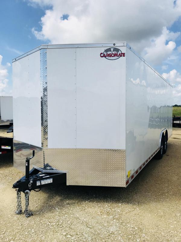 2019 Cargo Mate TXEHW8.524TA5 Enclosed Cargo Trailer