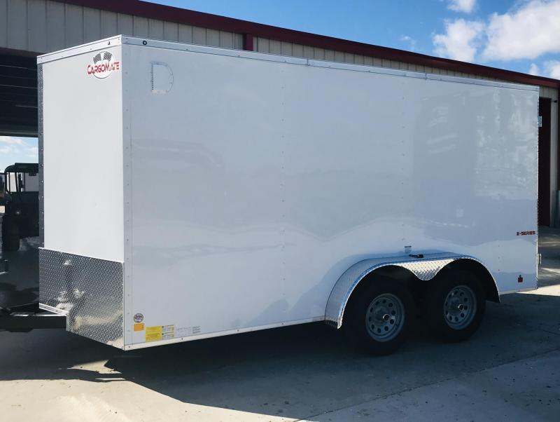 2019 Cargo Mate TXEHW714TA3 Enclosed Cargo Trailer