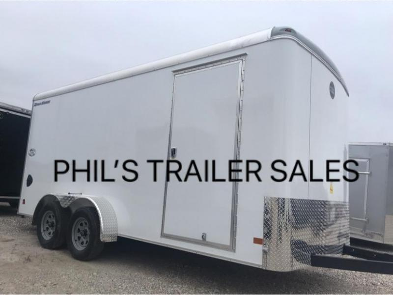 2019 7X16 7FT INTERIOR  sCREWLESS  Wells Cargo ROAD FORCE