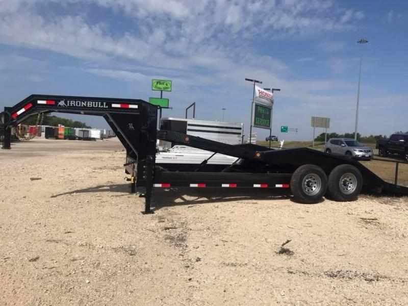 2018 Iron Bull IRON BULL 20 Gooseneck Hydraulic FULL TILT Equipment Trailer