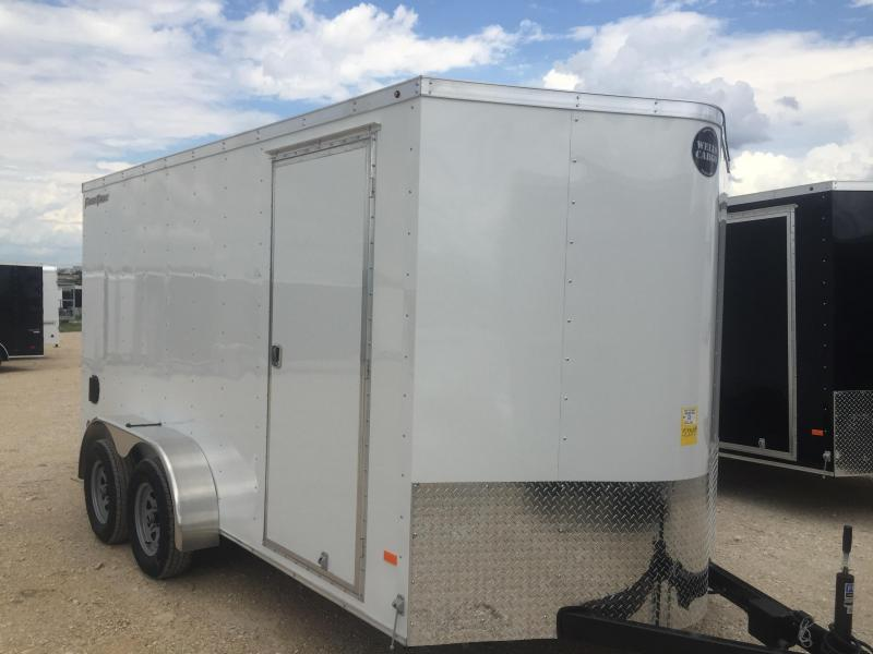 2017 Wells Cargo 7x14+2 v Enclosed trailer Fast Track Cargo / Enclosed Trailer