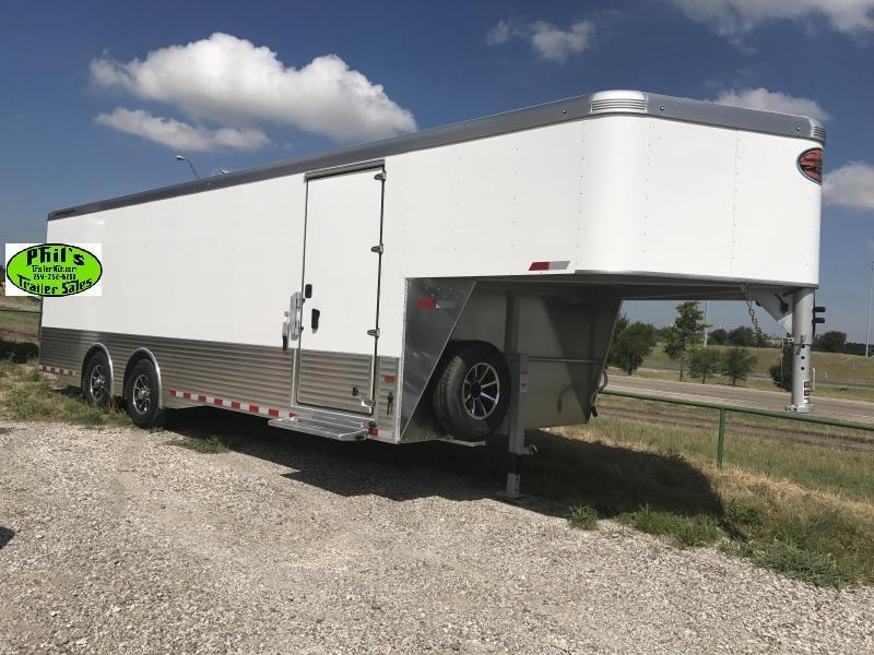 2018 32' Sundowner Commercial Grade  Gooseneck Aluminum  Cargo / Enclosed Trailer