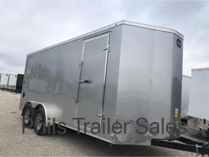 Wells Cargo 7x16 + v  7FT  INTERIOR HT