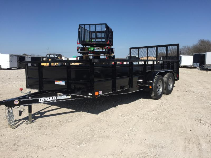 Lamar Trailers 83x16 24 steel sided Utility Trailer