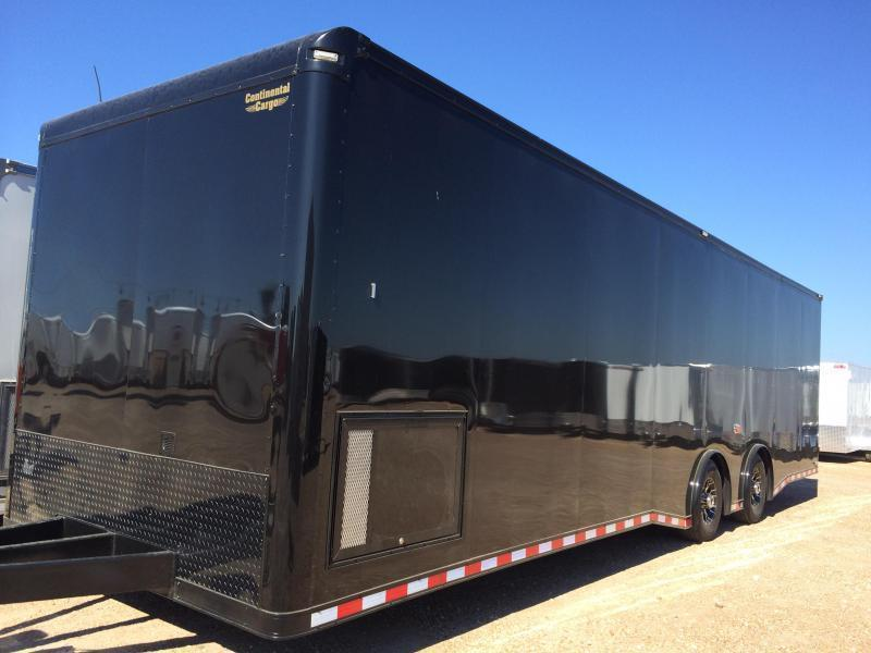 2015 32 BLACKED OUT  Cargo Mate AUTO MASTER Car / Racing Trailer