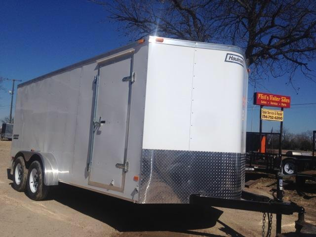 2015 6x12 tandem Haulmark Trailers Passport Cargo / Enclosed Trailer