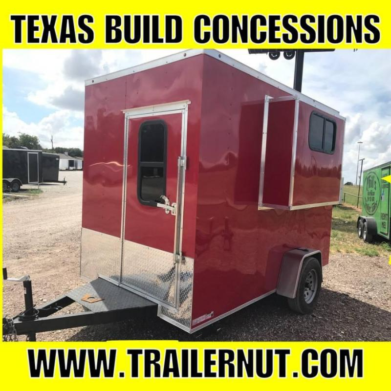 Concession Vending / Concession Trailer Enclosed Trailer