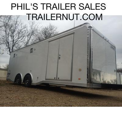 2015 8.5x24 STEREO  Haulmark Trailers Edge Pro Car / Racing Trailer