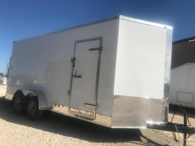 2018 7x16 + 2  7 ft interior ht  EXTRA HT  Enclosed Trailer Enclosed Cargo Trailer