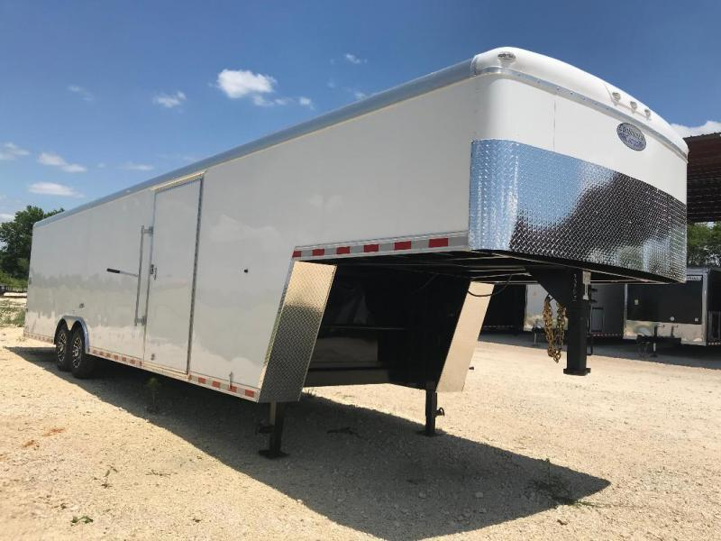 2019 Continental Cargo GOOSENECK Enclosed Cargo Trailer