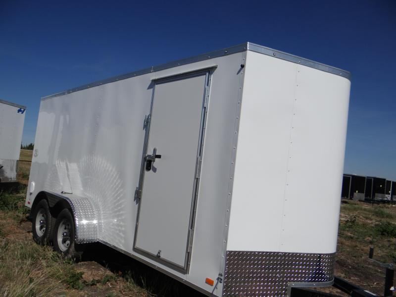 "7x14 Continental Cargo 6'6 "" RAMP Cargo / Enclosed Trailer"