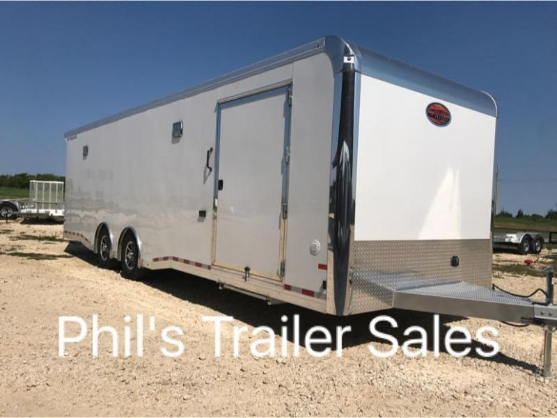 2018 28 ALL ALUMINUM  Car / Racing Trailer