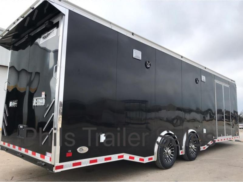 28 Haulmark EDGE PRO Car / Racing Trailer LOADED