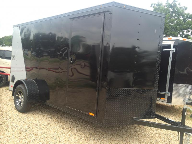 2015 Continental Cargo 6x12  BLACKOUT Cargo / Enclosed Trailer