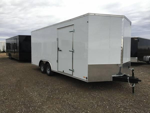Continental Cargo Value Hauler Wedge 8 5 x 20 v nose Ramp Door