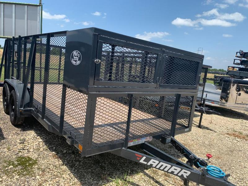 Lamar Trailers 83x16 landscape trailer POWDER COATED Equipment Trailer