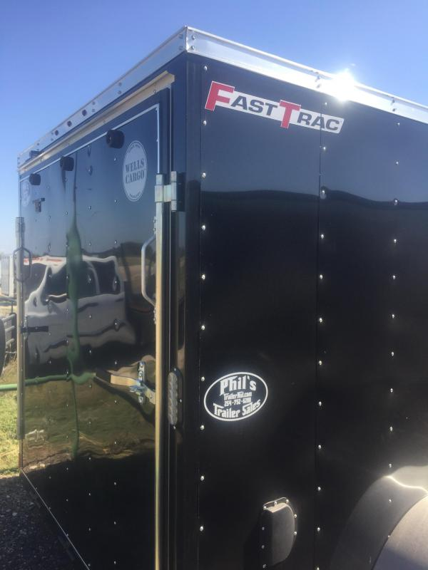 """2017 Wells Cargo 7x16 + v 6"""" extra ht Enclosed trailer* Fast Track Cargo / Enclosed Trailer"""