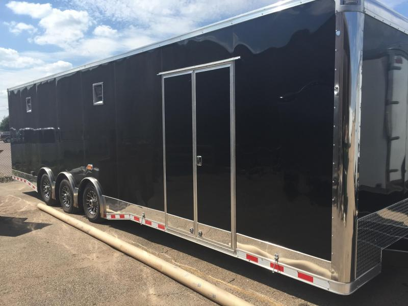2015 32 LOADED Continental Trailers Auto Master Car / Racing Trailer ENCLOSED TRAILER
