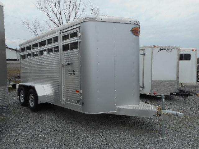 Sundowner Trailers Stockman express Stock / Stock Combo Trailer