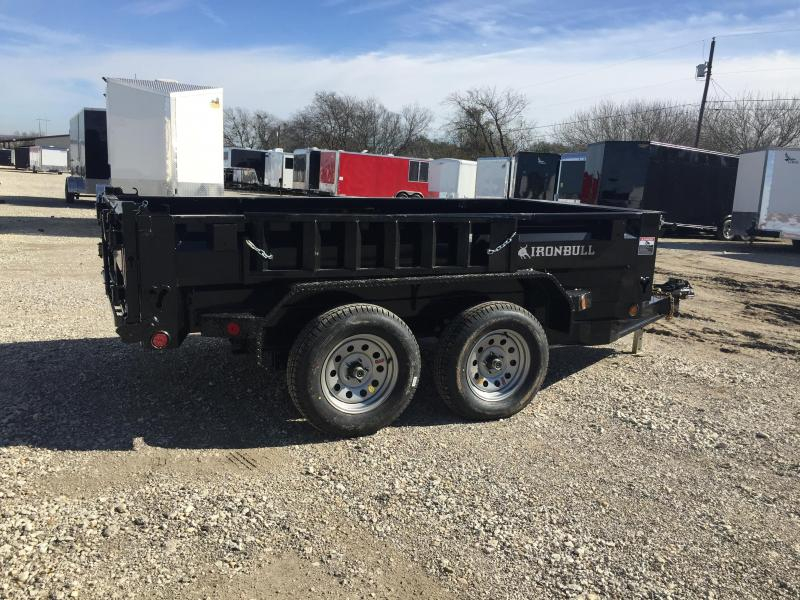 2018 Iron Bull 5x10 dump Dump Trailer with Trarp
