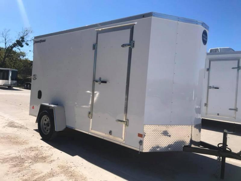 "2019 Wells Cargo 6X12 6'6"" FAST TRACK Enclosed Cargo Trailer"
