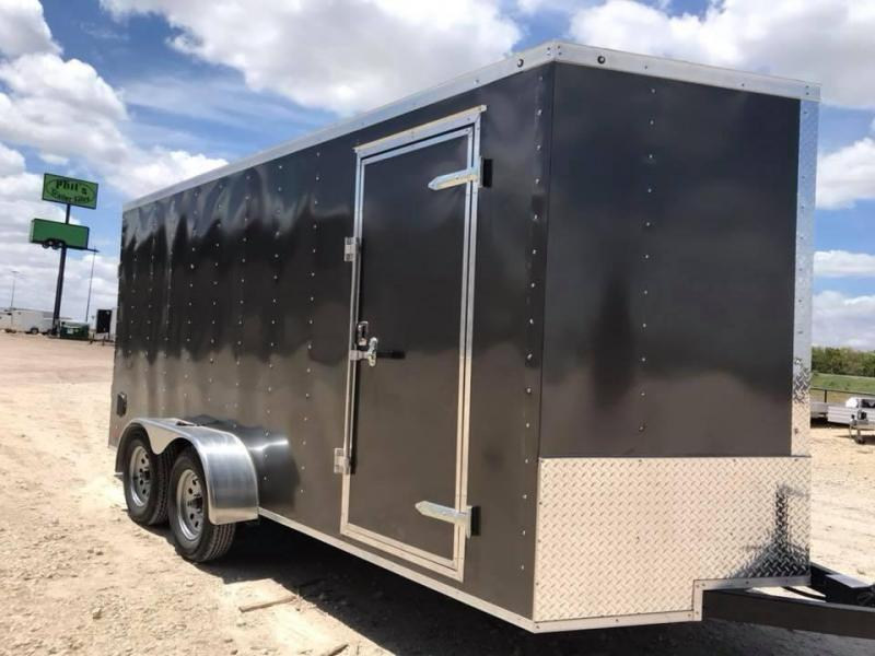 2018 Texas Select Texas Select Enclosed Cargo Trailer